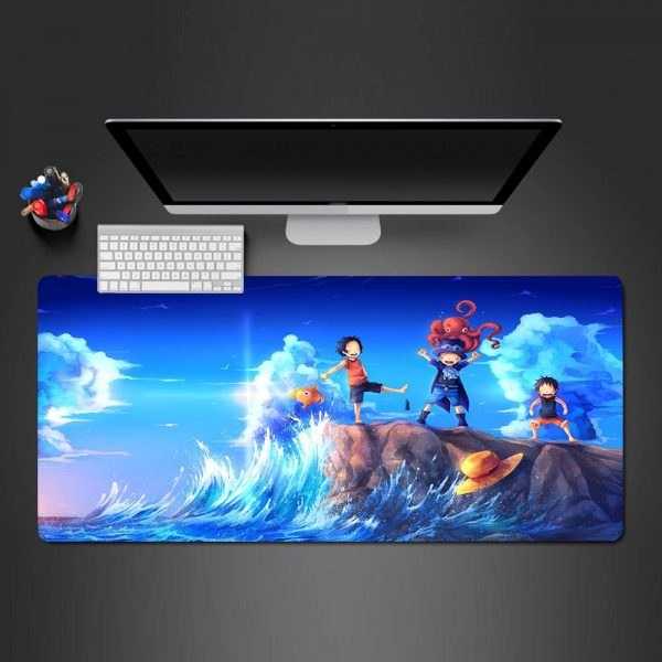 One Piece - Sea - Mouse Pad 350x250x2mm Official Anime Mousepad Merch