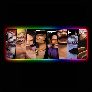 One Piece - Slide - RGB Mouse Pad 350x250x3mm Official Anime Mousepad Merch