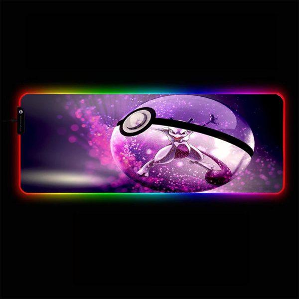 Pokemon - 02 - RGB Mouse Pad 350x250x3mm Official Anime Mousepad Merch