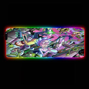 Cartoon Designs - Other World - RGB Mouse Pad 350x250x3mm Official Anime Mousepad Merch