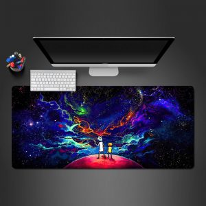Cartoon Space Gamer Mouse Pad Large Computer Desk Mat XXL PC Gaming Mousepad 350x250x2mm Official Anime Mousepad Merch