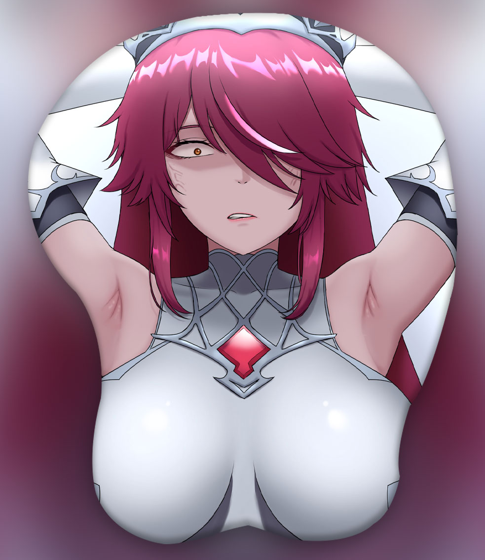 rosaria 3d oppai mouse pad 4279 - Anime Mousepads