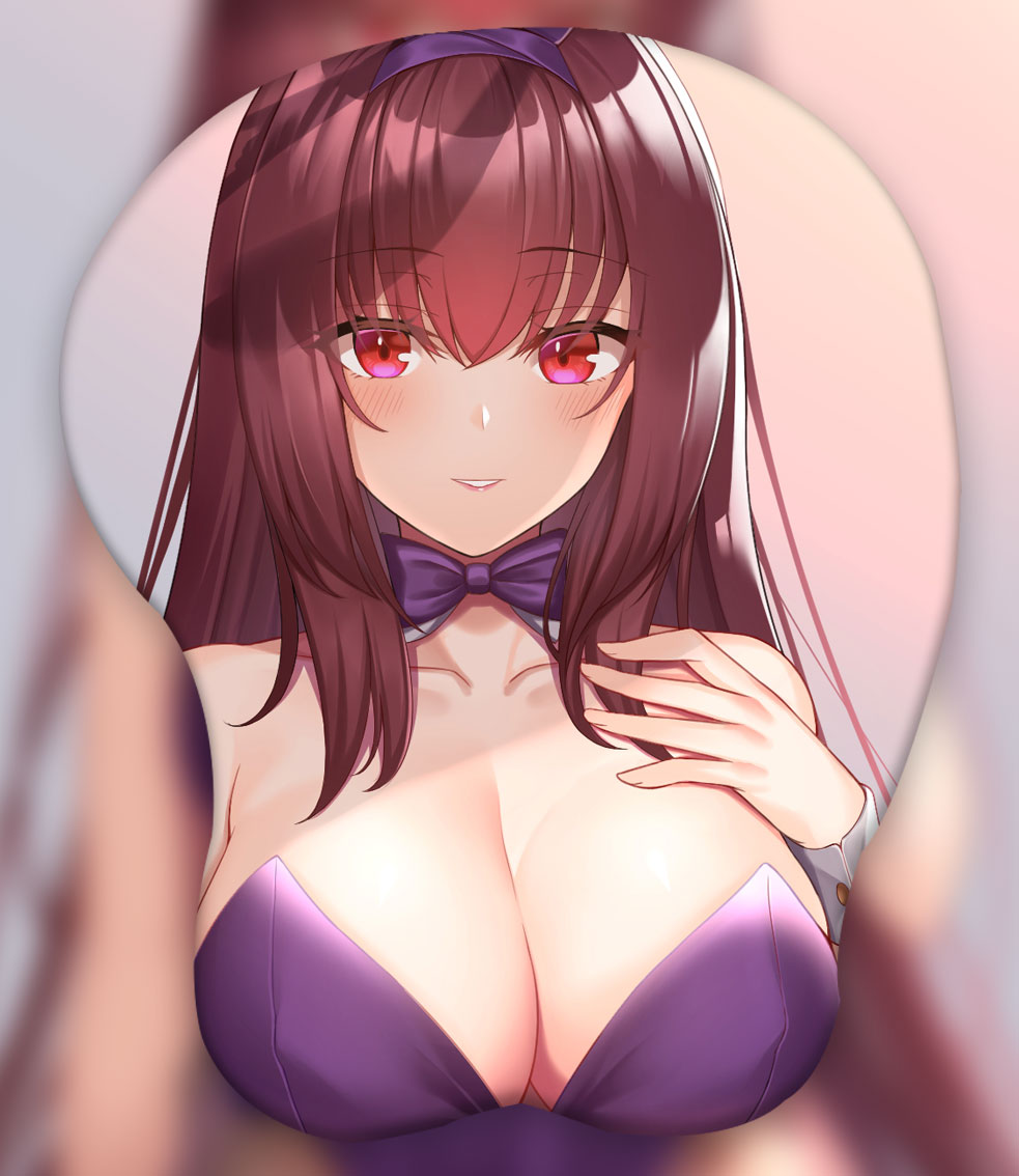 scathach 3d oppai mouse pad ver3 2835 - Anime Mousepads