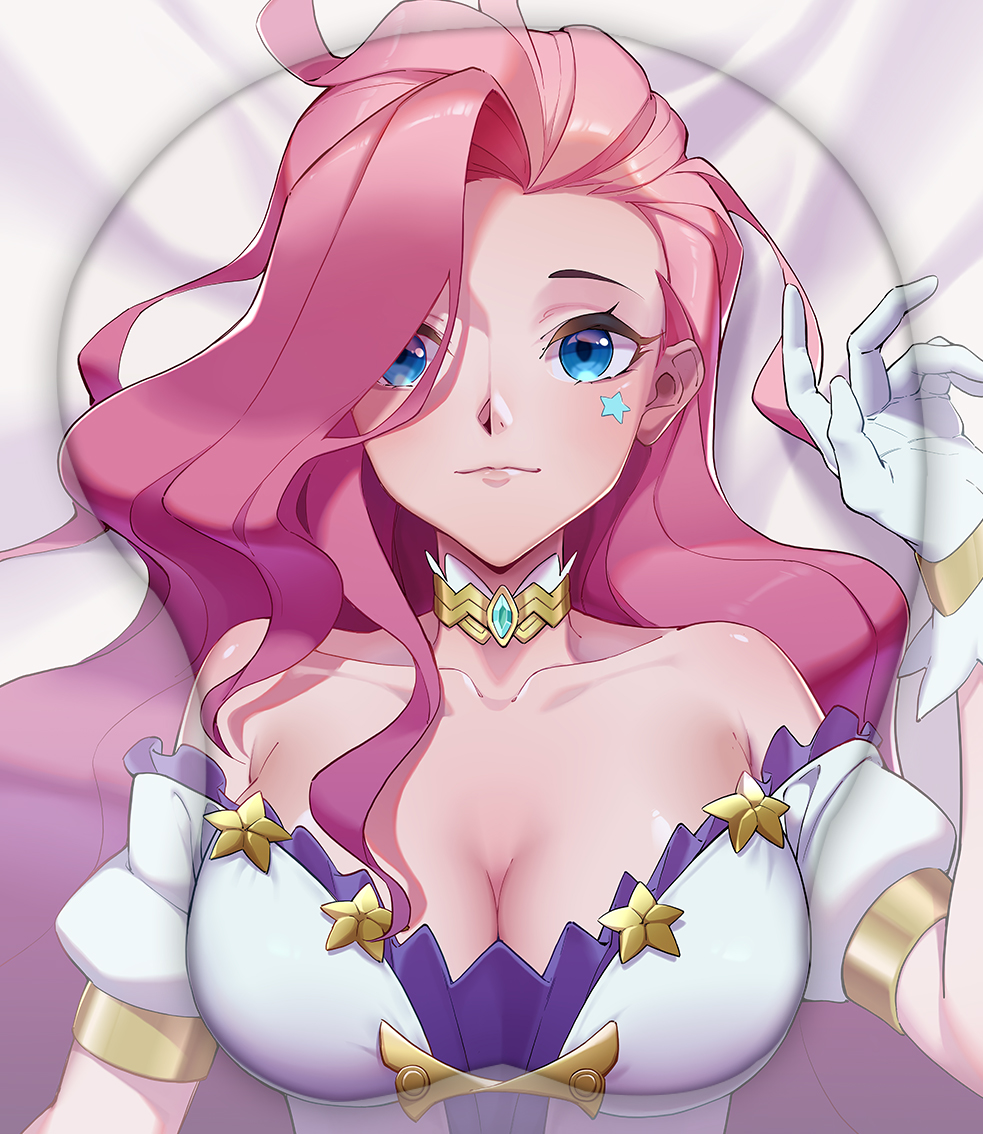 seraphine 3d oppai mouse pad 5051 - Anime Mousepads
