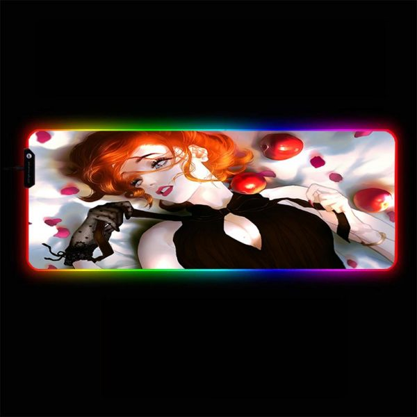 Snow White - RGB Mouse Pad 350x250x3mm Official Anime Mousepad Merch