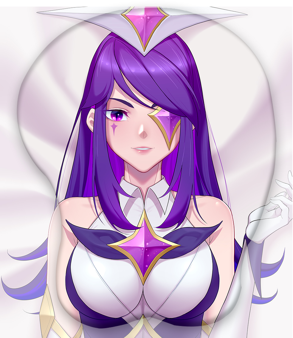 star guardian syndra 3d oppai mouse pad 4054 - Anime Mousepads