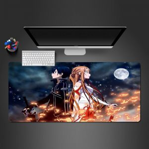 Anime Designs - Sword Art Online 02 - Mouse Pad 350x250x2mm Official Anime Mousepad Merch
