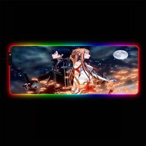 Anime Designs - Sword Art Online 02 - RGB Mouse Pad 350x250x3mm Official Anime Mousepad Merch