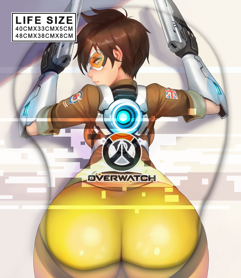 tracer life size butt mouse pad 3719 - Anime Mousepads